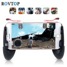 Rovtop <b>Metal</b> K19 <b>Mobile Phone</b> Gaming Trigger for PUBG <b>Mobile</b> ...