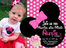 minnie mouse 1st birthday invitations templates amazing minnie mouse birthday invitations digital