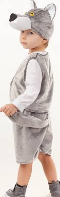 <b>Карнавальный костюм Волк</b> Фомка жилет, шорты, шапка размер ...