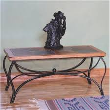 designs sedona table top base: sunny designs sedona coffee table w slate top amp metal base