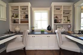 home office double desk traditional study nook home office design built desk small home office
