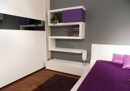 Wall Design Ideas bedroom wall design ideas grey and purple interior concept combination with white elegant decorating for master