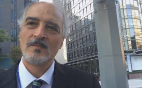 video syria s un ambassador conducts street interview in new york syria s permanent representative