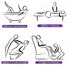 chair massage clipart clipartfest massage therapy an image of a