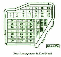 vw beetle fuse box diagram vw wiring diagrams