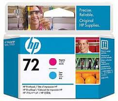 <b>Печатающая головка HP</b> Print Head №72 Magenta & Cyan (<b>C9383A</b>)