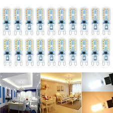 2 ~ <b>10PCS G9</b> 8W <b>LED Dimmable</b> Capsule <b>Bulb</b> Replacement Light ...