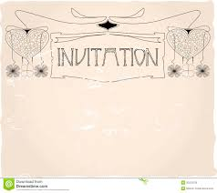 vintage invitation templates com vintage invitation templates