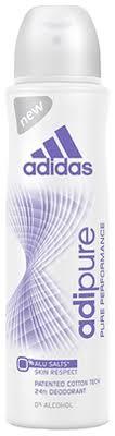 Купить <b>женский дезодорант-антиперспирант</b> adipure pure ...