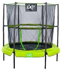 Каркасный <b>батут Exit Toys</b> Домашний 80053 140х140х146 см ...