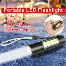 <b>Portable Mini</b> COB Tactical <b>LED Flashlight</b> Torch Working Pocket ...