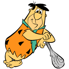 Image result for fred flintstone club gif