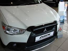<b>Дефлектор капота EGR</b> для Mitsubishi ASX 2010 - 2012