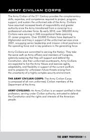 the army profession army