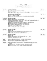 google resume template free resume sample chronological resume    resume template google docs free