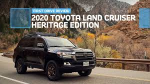 2020 <b>Toyota Land Cruiser</b> Heritage Edition First Drive: Soldiering On