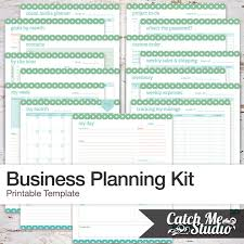 printable business planner for an organized business bussiness planner