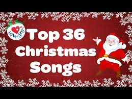 Top 36 Popular Christmas Songs and Carols Playlist - YouTube