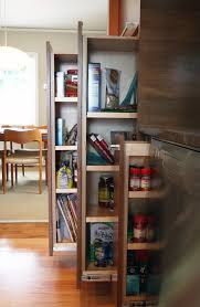Kitchen Cabinet Slide Out Kitchen Excelernt Vertical Pull Out Kitchen Cabinet Made Of