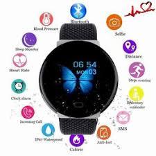 2020 New D19 Men Smartwatch Sport Pedometer Smart ... - Vova