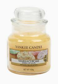 <b>Свеча ароматическая</b> Yankee Candle <b>Vanilla Cupcake</b> купить за ...