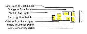 25 06 jpg ford headlight switch diagram ford image wiring 1948 cadillac headlight switch wiring diagram wiring diagram on