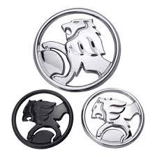9.5cm <b>Car Styling</b> 3D Lion Logo Stickers <b>Metal Badge Emblem</b> For ...