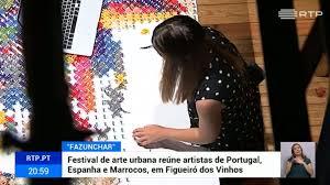 Festival de arte urbana em Figueiró dos Vinhos