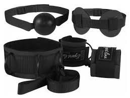 <b>Sitabella</b> Комплект для БДСМ-игр: наручники, кляп-шарик, маска ...