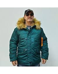 <b>Куртка</b> Аляска <b>Husky</b> SHORT Dark Petrol / Orange