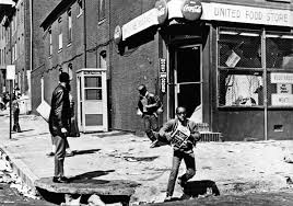 Image result for baltimore riots 1968 pics