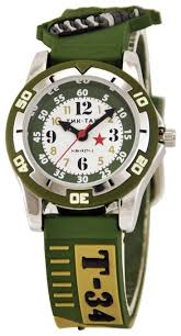 Наручные <b>часы Тик</b>-Так H102-<b>2</b> Танк Т-34 — купить по выгодной ...