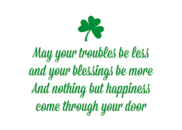St. Patrick's Day Quote Free Printable - Somewhat Simple