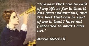 Google Doodle Celebration Tribute to Maria Mitchell via Relatably.com
