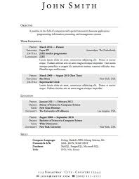 good resume sample with no work experience first resume example with no work experience job resumes good resume examples for high school students