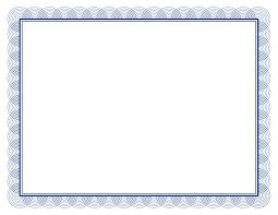 border clipart for certificates clipartfest gift certificate border