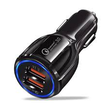 Zensime <b>18W 3.1A Car Charger</b> Quick Charge 3.0 Universal Dual ...