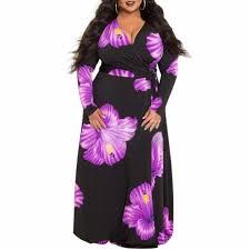 <b>L 5XL women</b> fat <b>plus</b> size dress 2018 New Fashion Flower Print ...