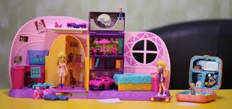 Mattel <b>Polly Pocket</b>: рассматриваем в деталях комнату Полли и ...