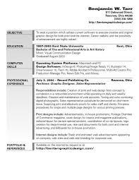 graphic design objective resume httptopresumeinfographic design objective of resumes