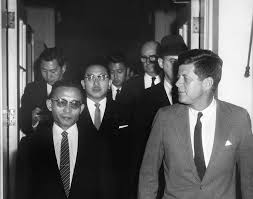 ar d president john f kennedy general chung hee park and ar6895 d president john f kennedy general chung hee park and aides