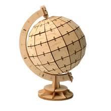 DIY игрушки Глобус 3D деревянная головоломка игрушка ...