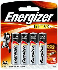 <b>Батарейки Energizer</b> Max E91, 1.5V (AА, <b>4</b> штуки) | Купить с ...