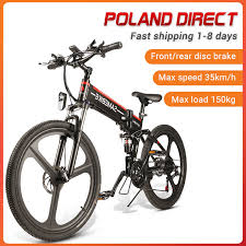 [EU Direct] <b>SAMEBIKE LO26</b> 350W <b>Moped Electric Bike</b> Smart ...