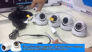 How to install <b>CCTV IP Camera</b> using network switch hub ...