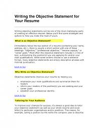 cover letter resume examples objective sentences for resumes good guide writing statement resume of career and objective sentence for resume examples