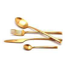<b>Набор столовых приборов Cutipol</b> MEZZO GOLD 9302 24 ...
