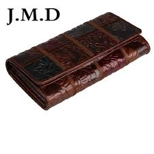 <b>JMD Tanned Genuine Leather</b> Folded Wallet For Women'S Coin ...