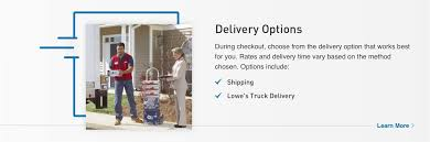 <b>Shipping</b> & <b>Delivery</b> Information at Lowe's