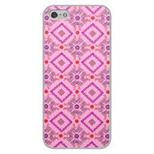 Чехол для iPhone 5/5S, объёмная печать Розовая абстракция ...